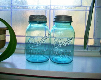 Antique Canning Jar Etsy