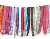 Yoga HEADBANDS - Women's Elastic Headbands - Boho Headbands for Yoga - Ribbon Head Bands - Stretchy Exercise Headbands for the Gym, Exercise