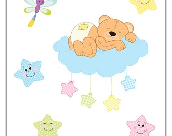 Items Similar To Bear Curtain Tie Backs For Boy Or Girl S