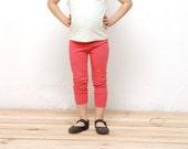 Girls leggings with stars leggings, toddler girls leggings, baby girls pink or black leggings , Girls clothes