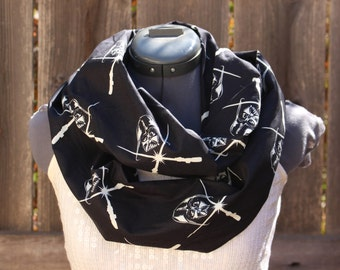 Darth Vader Star Wars Glow in the Dark Sith Infinity Scarf