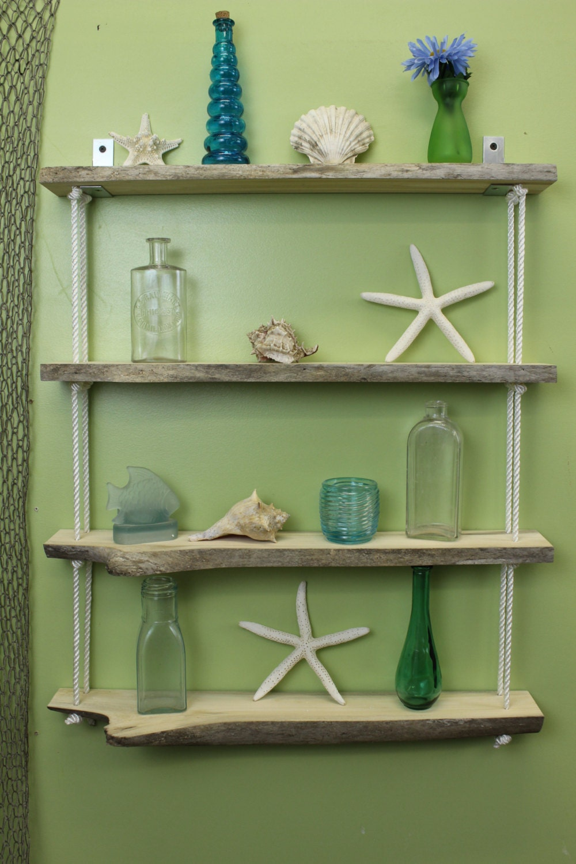 driftwood hanging wall shelf driftwood shelves shelving. Black Bedroom Furniture Sets. Home Design Ideas