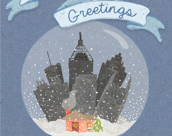 Atlanta Holiday Postcards - Set of 10