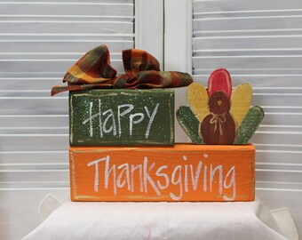 Thanksgiving Turkey Block Set