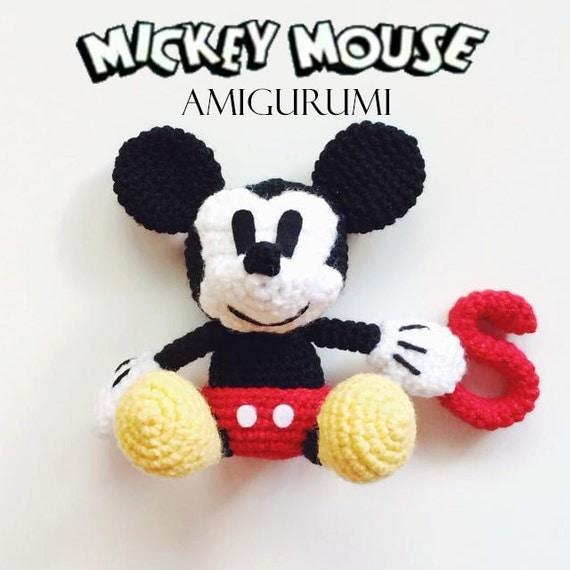Mickey Mouse Amigurumi Crochet Pattern : Mickey Mouse Amigurumi Crochet Pattern PDF