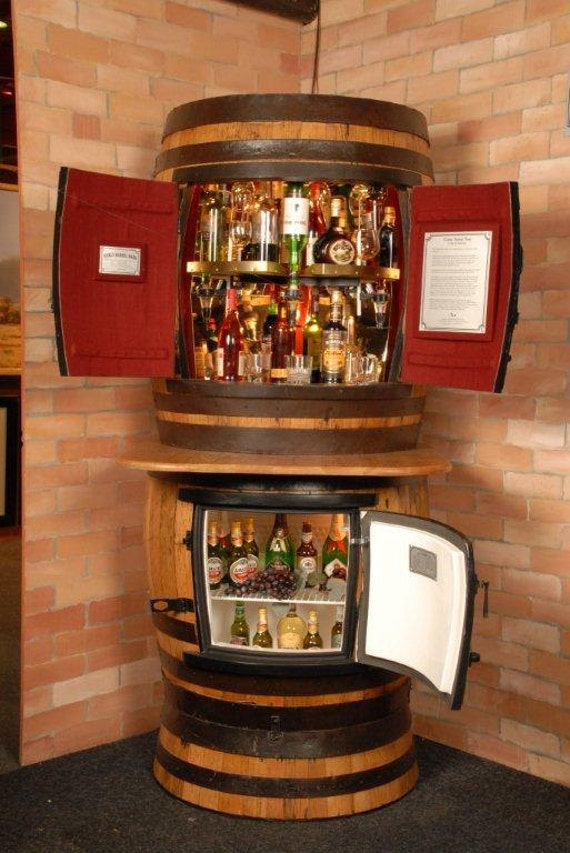 Items Similar To Oakly Rotating Liquor Cabinet Oakly