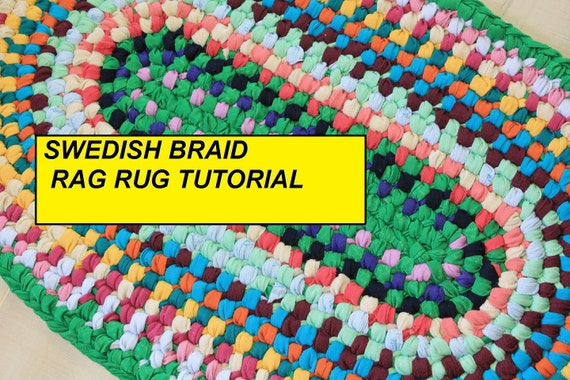 Pdf Tutorial Swedish Braid Rag Rug Aka Double Toothbrush Rug