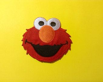 Iron on Sew on Patch:  Elmo