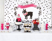 Puppy Party Printables decorations INSTANT DOWNLOAD by Itsy Belle