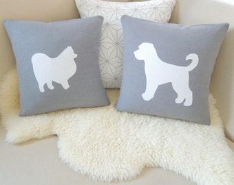 Dog Pillow Cover Pair - Customized Set