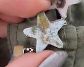 Star-Shaped World Map Pin