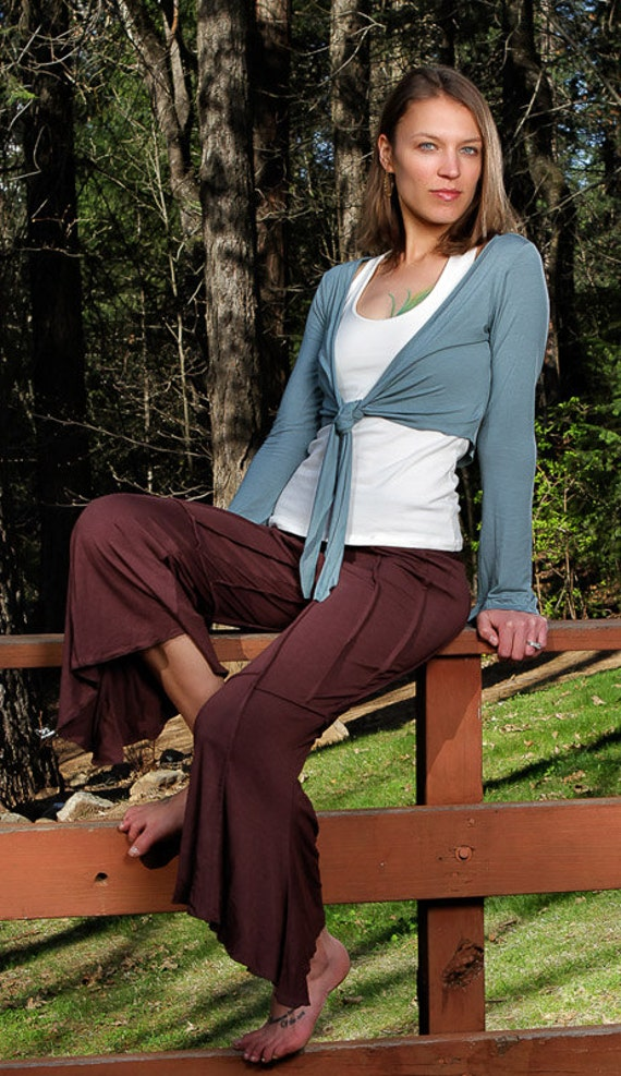 Zada Pants in Dark Brown for Womens Summer Fashion Yoga Wear