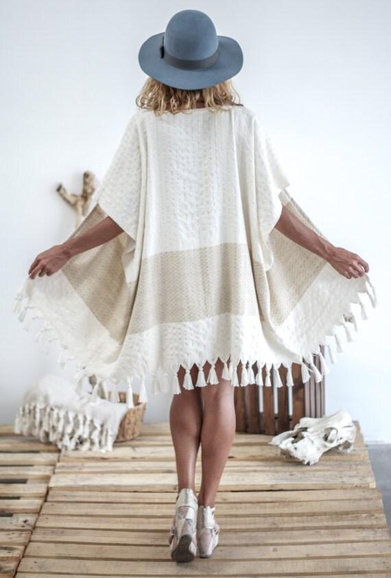 Pamuk Kimono | Boho Kimono Bohemian Kimono Boho Dress Kimono Robe Bridesmaid Gift Swim Cover Up Cover Up Kimono Jacket Boho Beach Wear