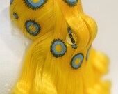 Blue-Ringed Octopus Fascinator - Made to order