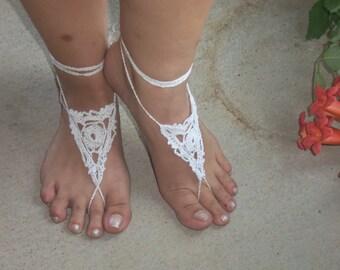 Crochet Bare Foot Sandals