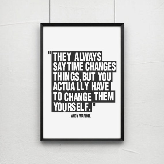 Andy Warhol Quotes Interesting Posters Poster Art Print Andy Warhol Quote Art Quotes