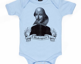Shakespeare organic baby infant one piece