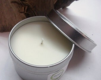 Cinnamon Soy Candle Travel Tin 6 oz