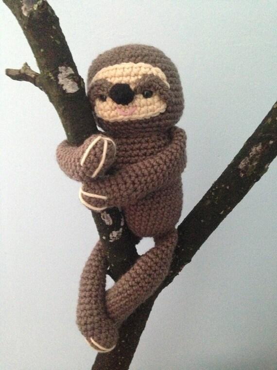 Amigurumi Crochet Sloth Pattern Digital Download from ...