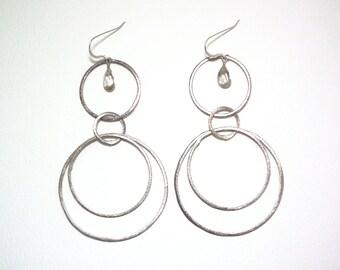 Whitney - Smoky quartz earrings