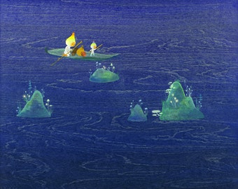 Navigating the Currents Limited Edition Print
