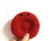 Crochet Red Blood Cell -- Erythrocyte