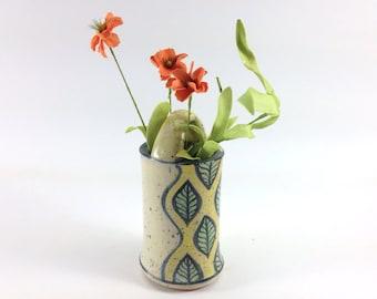 Oval Bud Vase with Handle Sale