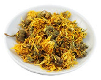 Calendula Flowers and Petals 4oz