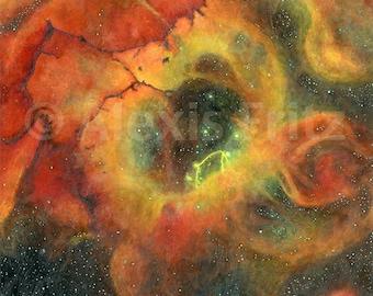 Nebula Print