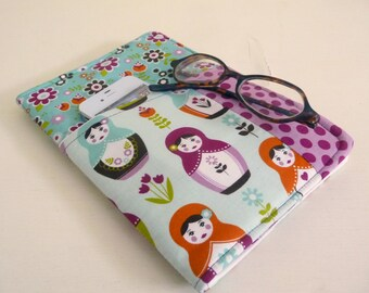Little Matryoshka Nook HD Cover with front pocket