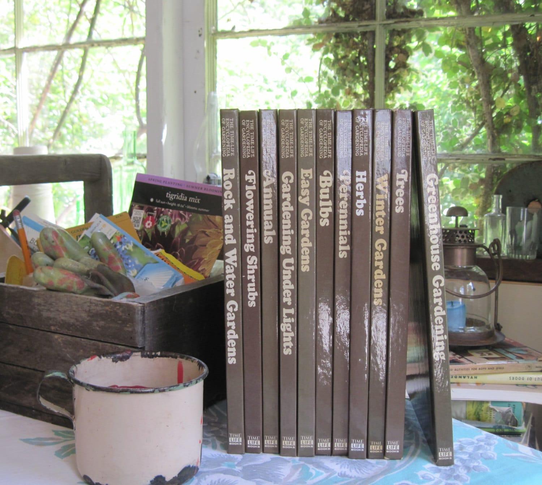 Gardening Books Time Life Encyclopedia Of Gardening Set Of 11