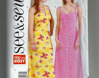 Butterick Misses/Miss Petite Dress Pattern B4493