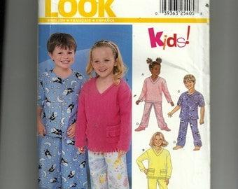New Look Child Sleepwear  Pattern 6131