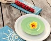 blue sun batik napkins
