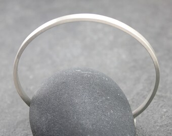 SIMPLY, Customized Bangle, Personalized Bracelet, Cuff, Sterling Silver, for men, man