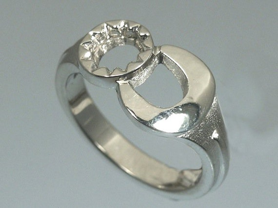 sterling silver wrench ring by cavallo jewelry