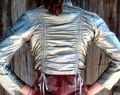 WINTER SALE- 75% OFF An Intricacy of Silver Silk