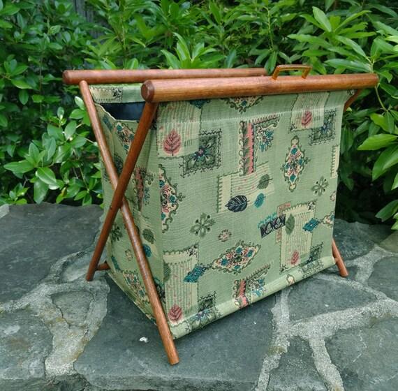 Vintage couture tricot sac sac de rangement craft sac for Sac rangement couture