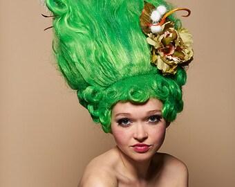 Venus Verde Art Wig