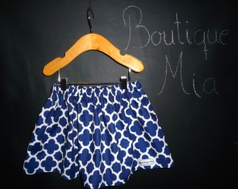 BUY 2 get 1 FREE - Skirt - Riley Blake - Quaterfoil - Pick the size Newborn up to 14 Years by Boutique Mia