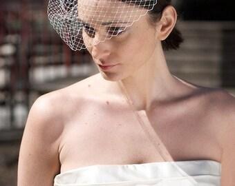 Mini Birdcage Wedding Blusher Veil