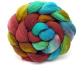 Themyscira - Spinning Fiber - Hand Dyed Roving - Combed Top - Dyed to Order