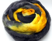 Wildcats - Hand Dyed Roving - Spinning Fiber - BFL - Falkland - Shetland - Targhee- Cheviot - Dyed to Order