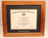 Diploma Frame, 8.5 x 11, Canisius College, Office Ideas