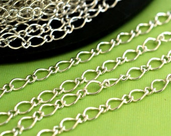 10 Feet Silver Mother-Son Chains CHSM021Y-S