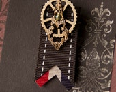Steampunk Gear Medal Costume Accessory