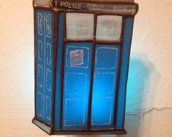 TARDIS Doctor Who Night Light by Glass Action