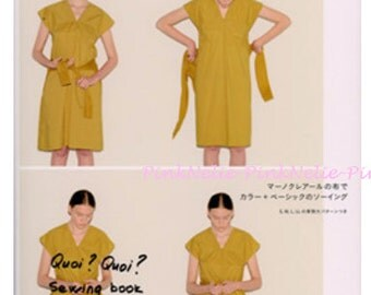 Quoi Quoi Daily Sewing Book - Japanese Craft Book