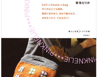 Knit House Bags - Japanese Craft Book