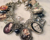 Charm Bracelet Charlotte Bronte the Author Beautiful